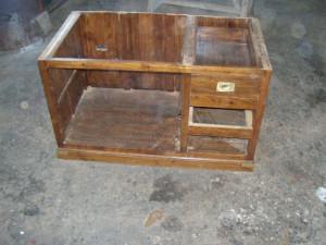 meuble avec un tiroir